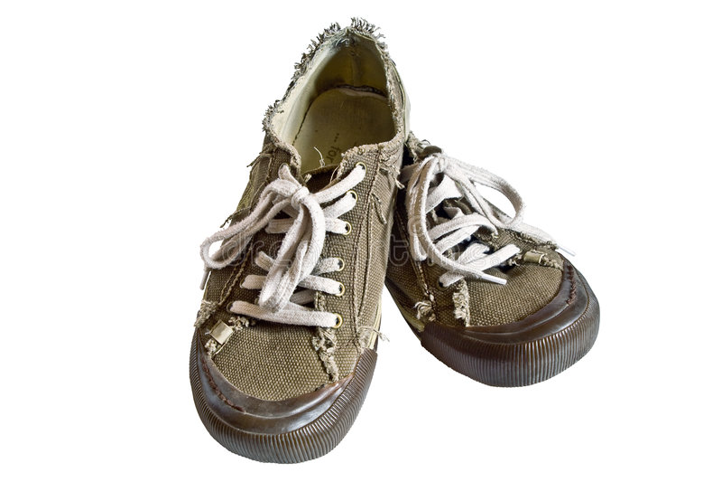De Tennisschoenen van de sprong stock afbeeldingen