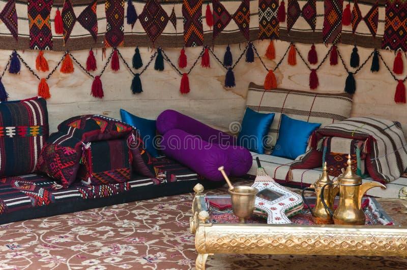 De Tent van Beduoin stock afbeelding