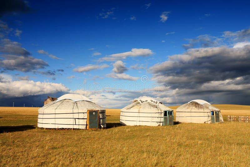 De tent van de nomade royalty-vrije stock afbeelding