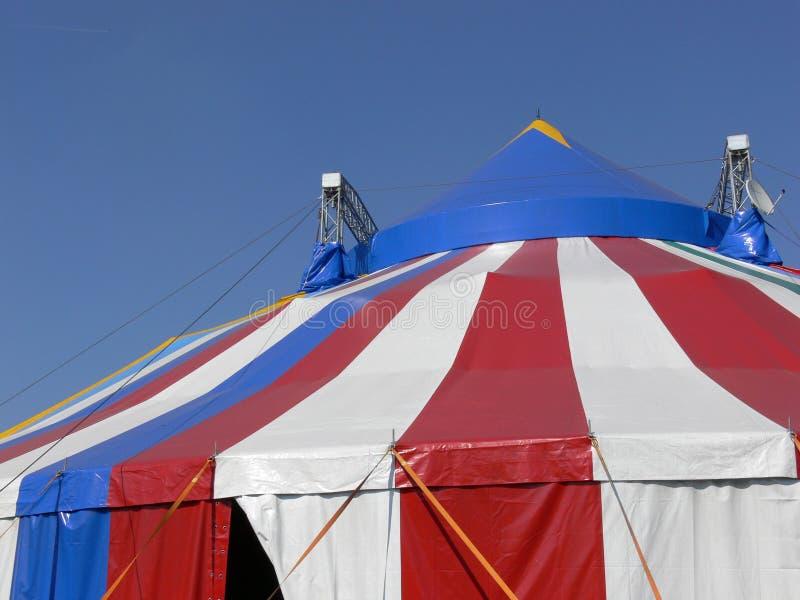 De tent van het circus stock foto's