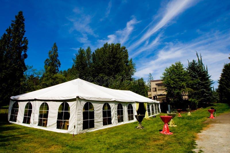 De Tent van het huwelijk royalty-vrije stock afbeeldingen