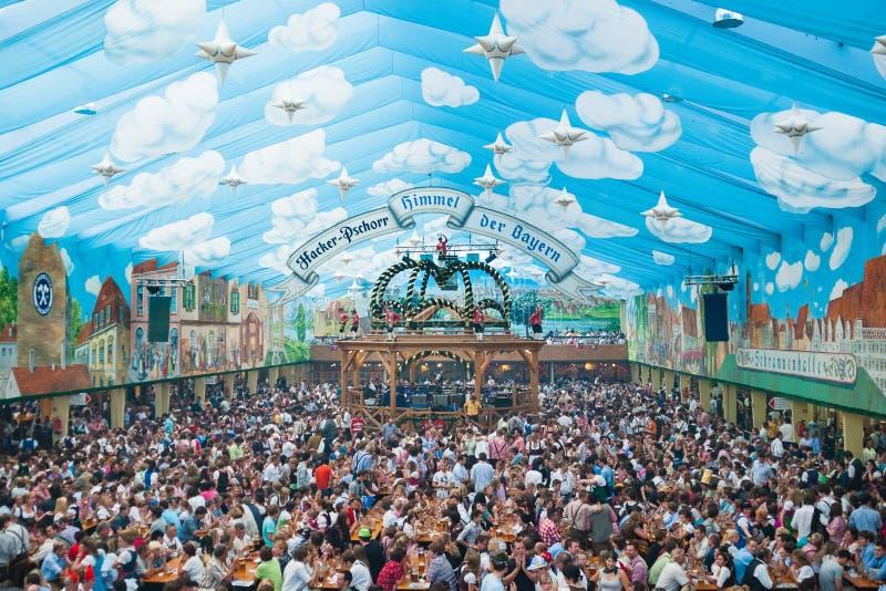 De Tent van Oktoberfest royalty-vrije stock foto