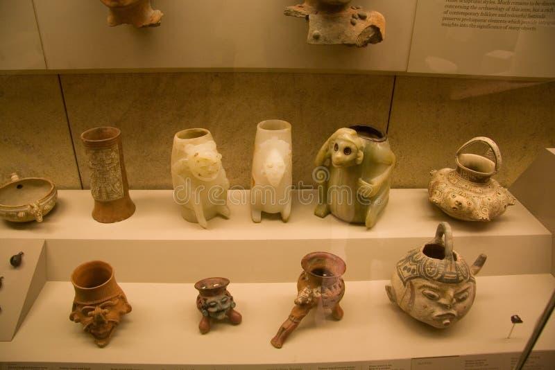 De tentoonstelling van British Museum Zuid-Amerika royalty-vrije stock fotografie