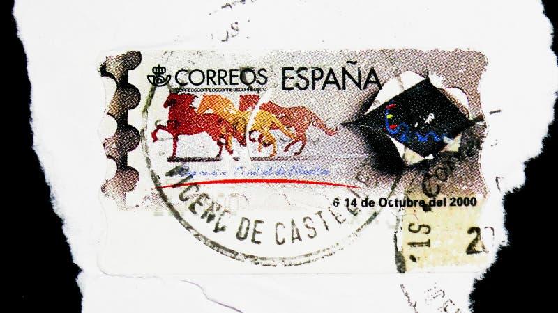 De Tentoonstelling van de wereldzegel, Thermische Herdenkingsserie, circa 1999 royalty-vrije stock afbeeldingen