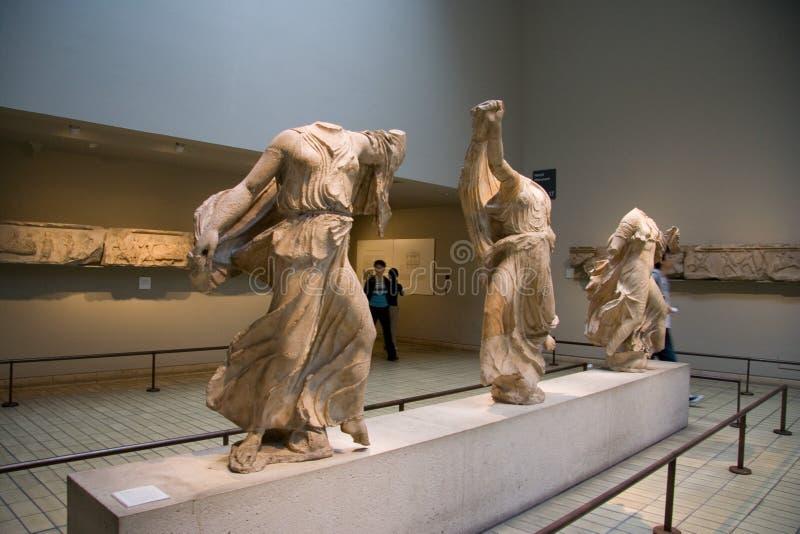 De tentoonstellingen van British Museum stock foto