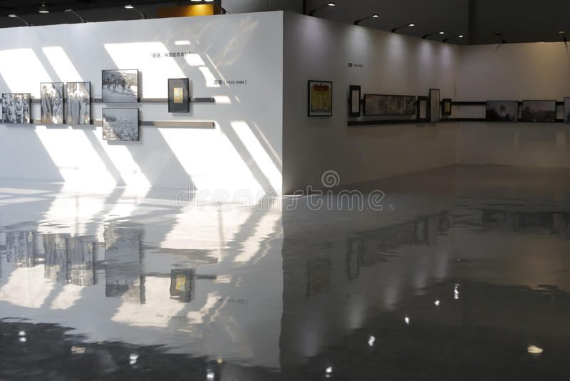 De tentoonstellingszaal van de Arlesfotografie royalty-vrije stock afbeeldingen