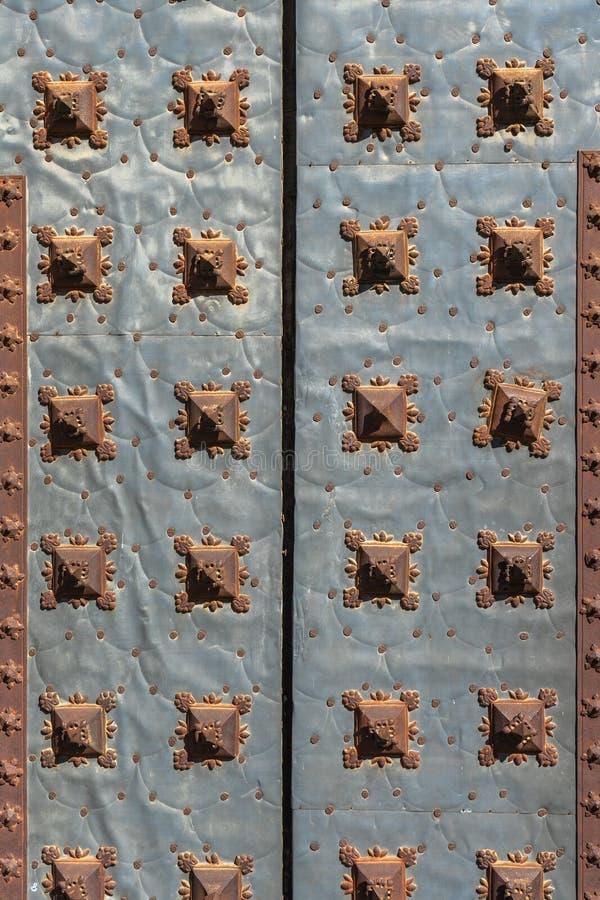 De tentoonstellingszaal van La Lonja in Zaragoza, Spanje stock afbeelding