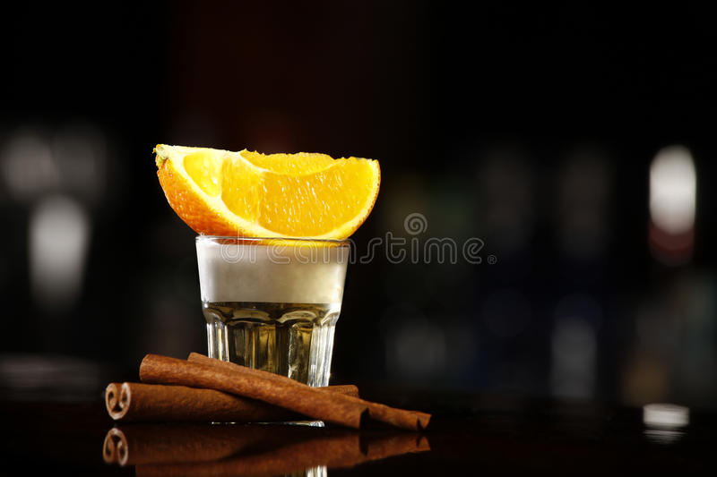 Or de Tequila photographie stock