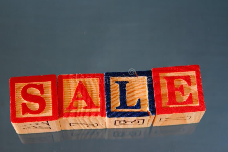 De term verkoop royalty-vrije stock foto's