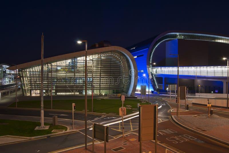 De terminal van de luchthaven stock foto