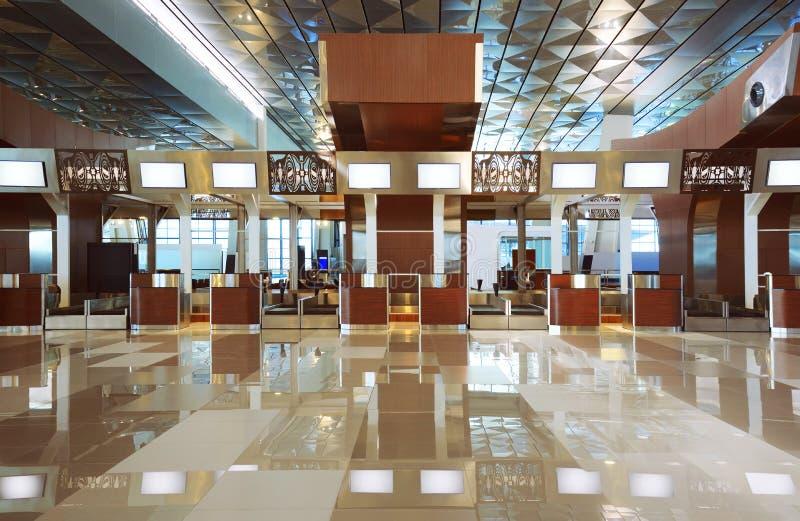 De Terminal van de luchthaven royalty-vrije stock fotografie