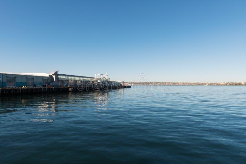 De Terminal van het cruiseschip stock foto's