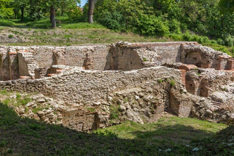 De termiska baden av Diocletianopolis, Plovdiv region, Bulgarien arkivfoton