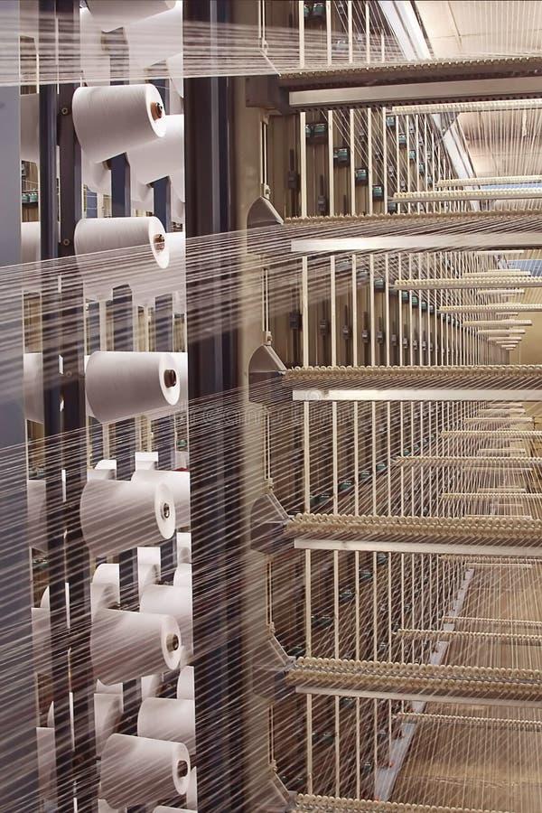De textiel industrie stock afbeelding