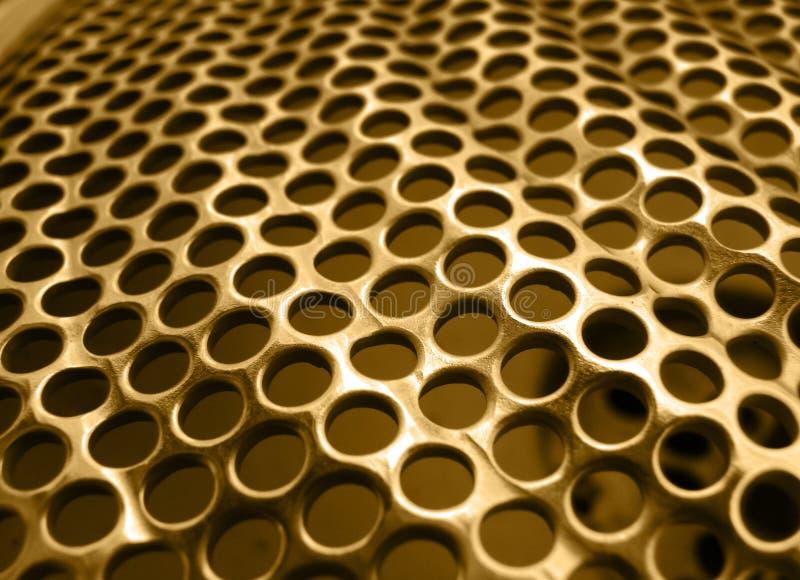 Or de texture en métal images stock