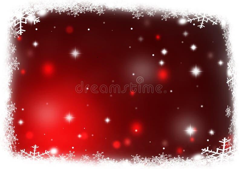 De textuur Kerstmis van de achtergrondsneeuwillustratie stock illustratie