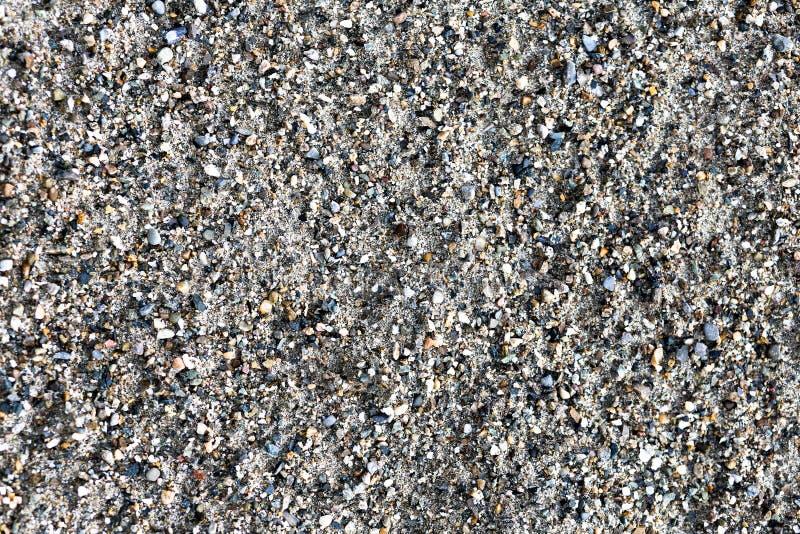 de textuur is lichtgrijze zand of aarde royalty-vrije stock foto's