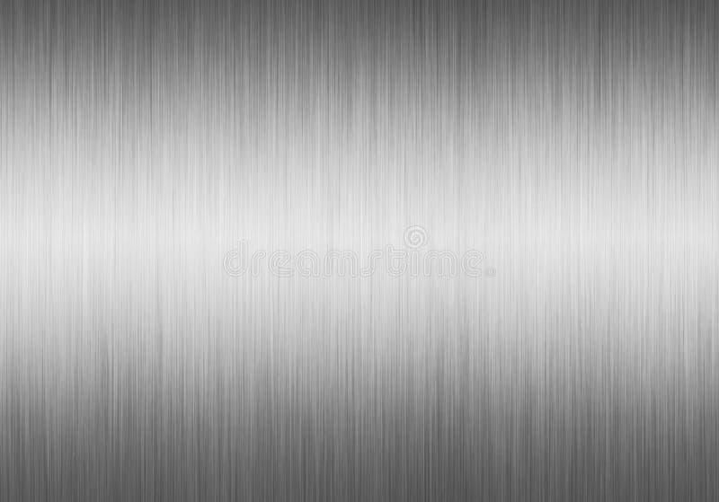 De textuur van Alluminium vector illustratie