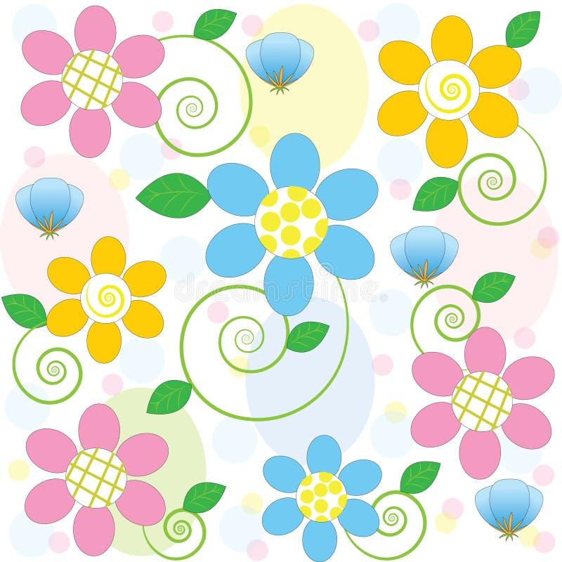 De textuur van bloemen stock afbeeldingen