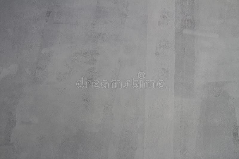De textuur van de cementmuur met lichte witte kleur schilderde op hen klaar voor het schilderen royalty-vrije stock fotografie
