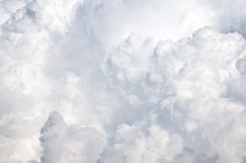 De textuur van Cloudscape stock fotografie