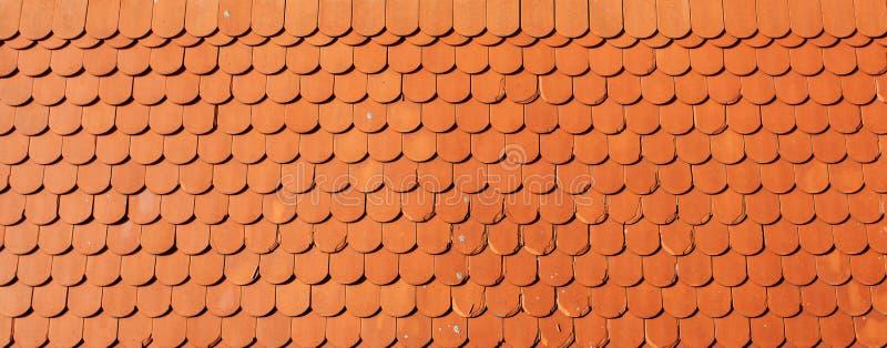 De textuur van de daktegel royalty-vrije stock foto