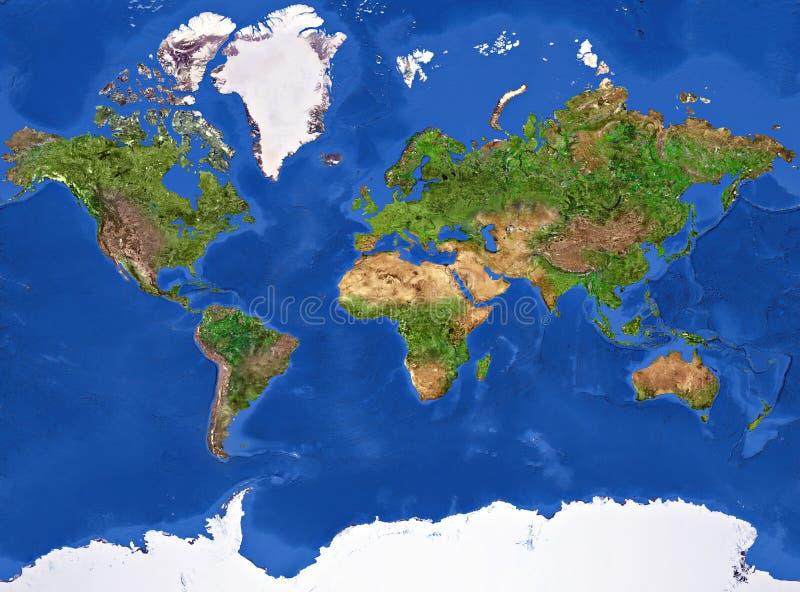 De Textuur van de aarde vector illustratie