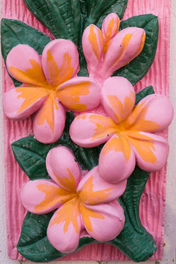 de textuur van de bloemmuur of achtergrond, proceskleur royalty-vrije stock afbeeldingen