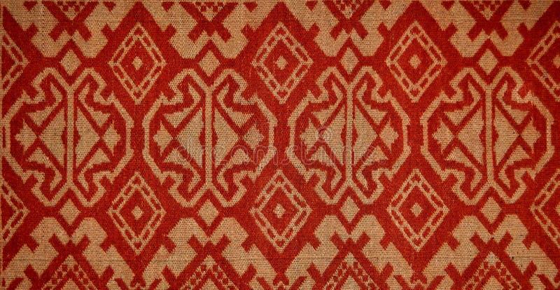 De textuur van de deken stock fotografie