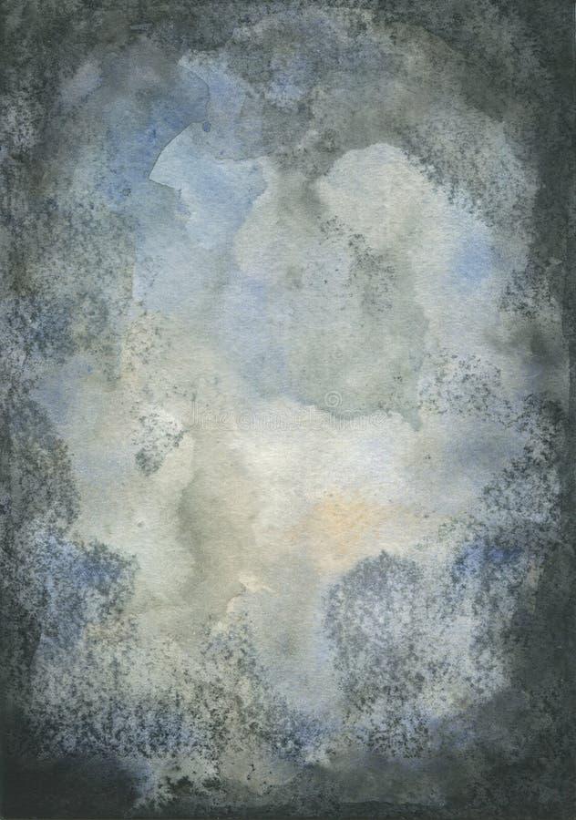 De textuur van de Grungewaterverf stock foto's