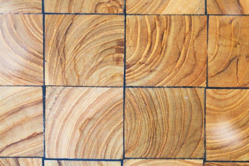 De textuur van de houtsnedenbestrating Abstracte natuurlijke houten achtergrond royalty-vrije stock fotografie