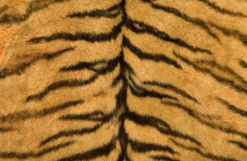 De textuur van de huid van tijger royalty-vrije stock fotografie