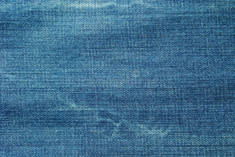 De textuur van de jeans stock afbeelding
