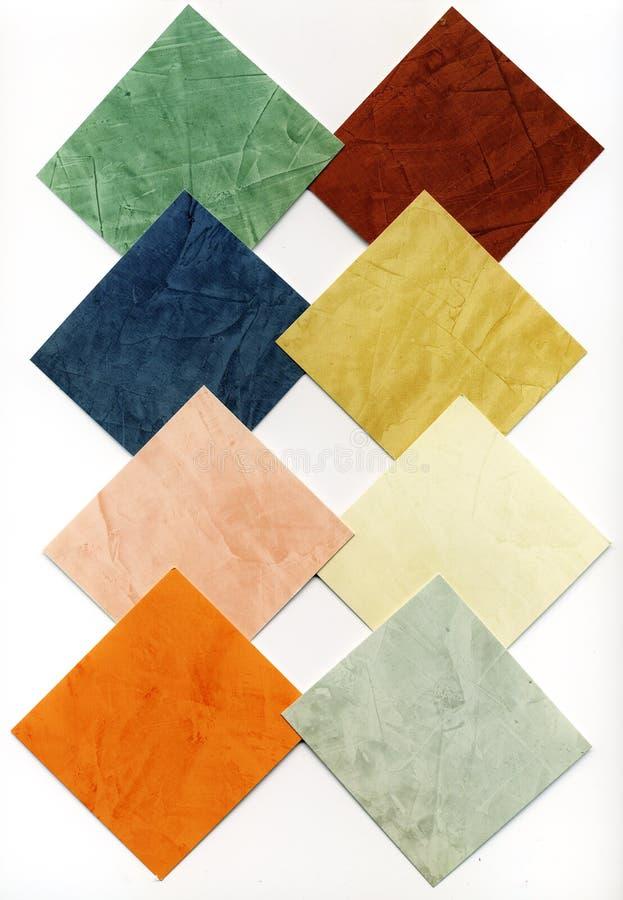 De textuur van de kleur stock fotografie