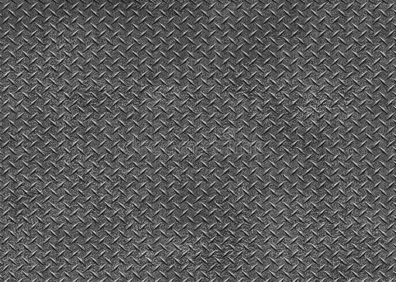 De textuur van de metaalplaat, Ijzerblad, Naadloze patroonachtergrond IL vector illustratie