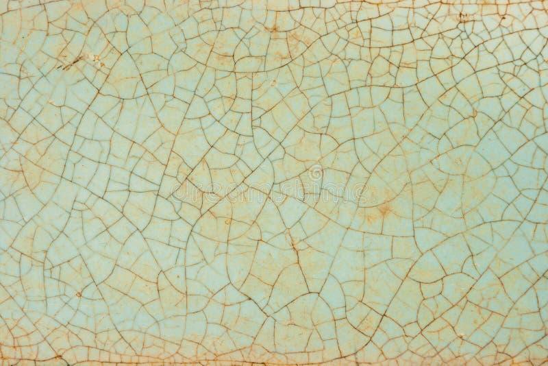 De textuur van de oude keramische tegel royalty-vrije stock foto