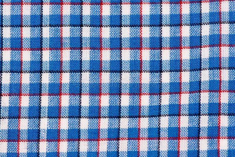 De Textuur van de plaid royalty-vrije stock foto's