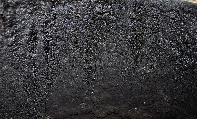 De textuur van de roest De staaf op de linkerzijde is in nadruk stock afbeelding