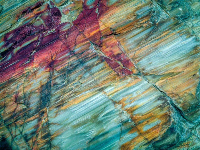 De textuur van de rots royalty-vrije stock afbeeldingen