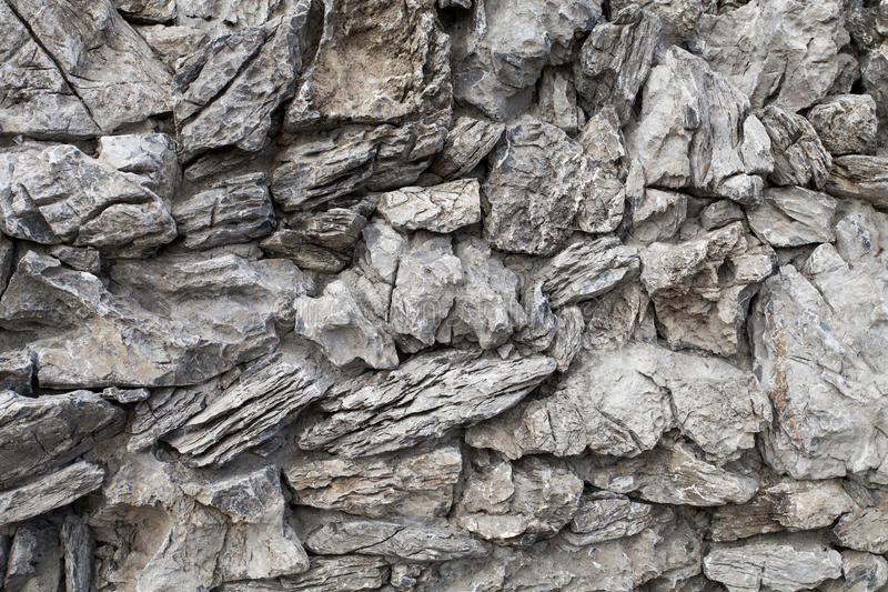 de textuur van de rotsmuur royalty-vrije stock fotografie