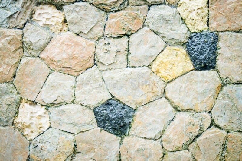 De textuur van de rotsmuur royalty-vrije stock afbeelding
