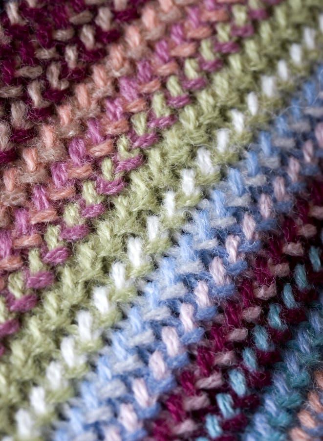 De Textuur Van De Sjaal Royalty-vrije Stock Fotografie