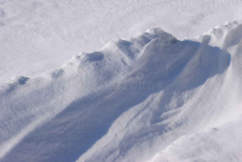 De textuur van de sneeuw stock foto's