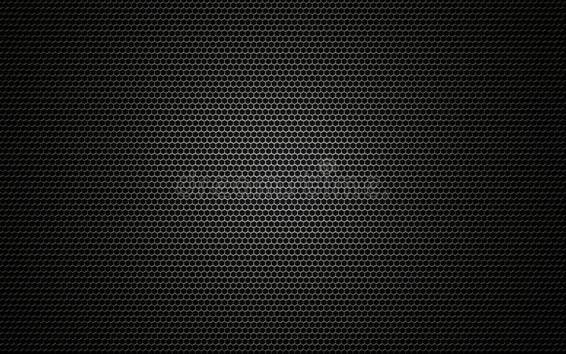 De textuur van de spreker royalty-vrije illustratie