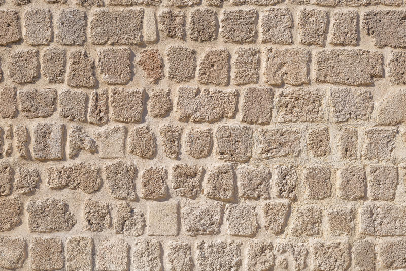 De textuur van de steenbakstenen muur stock foto