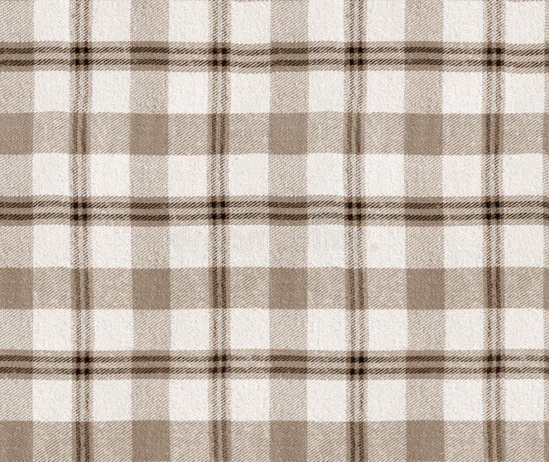 De textuur van de stoffenplaid Plaid naadloos patroon/de Geruite Achtergrond van de Lijstdoek stock illustratie