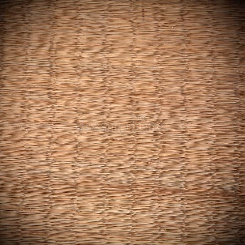 De textuur van de Tatamimat stock afbeelding