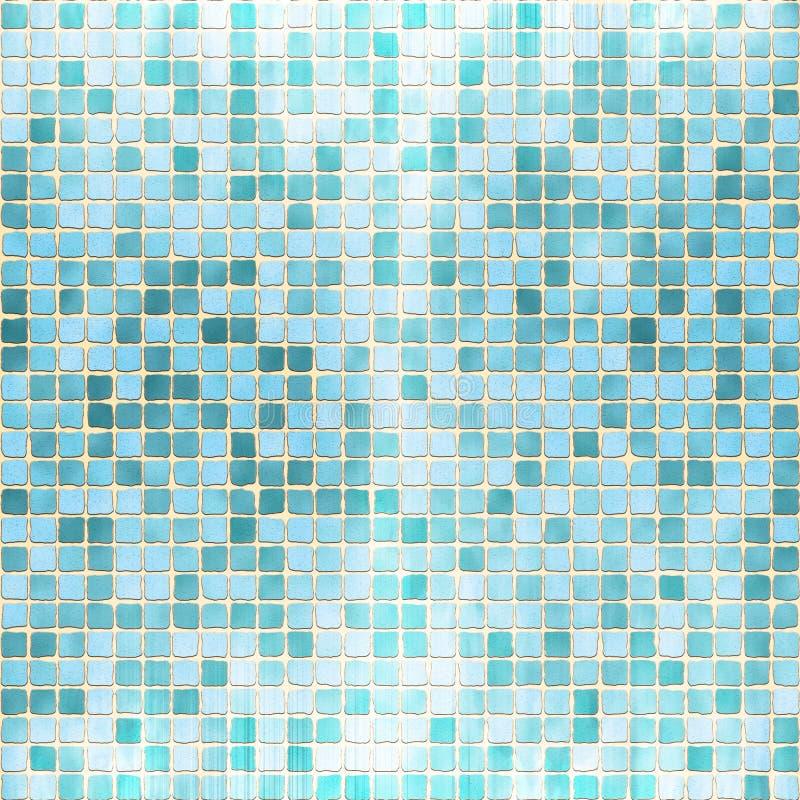 De Textuur van de Tegel van de Baksteen van het mozaïek stock illustratie