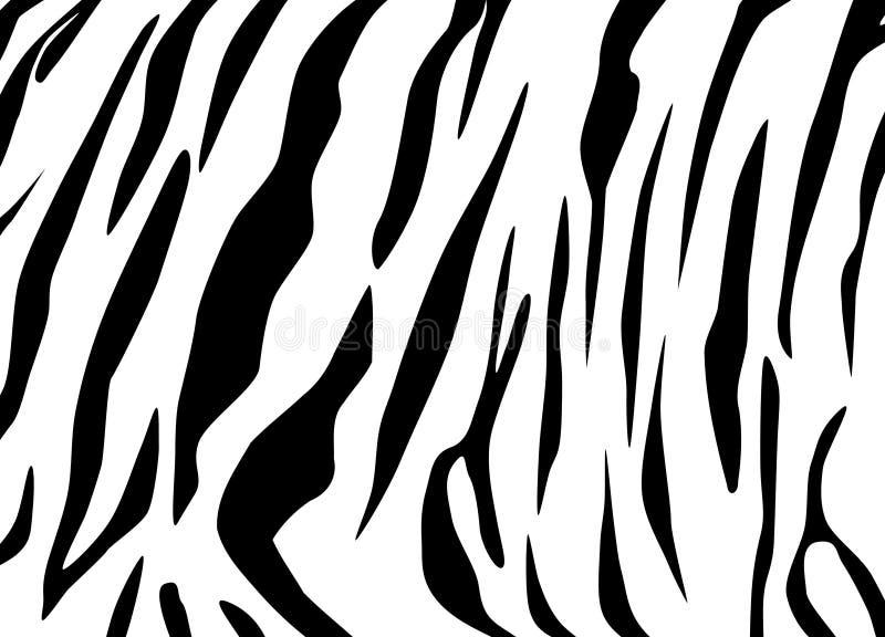 De textuur van de tijger royalty-vrije illustratie
