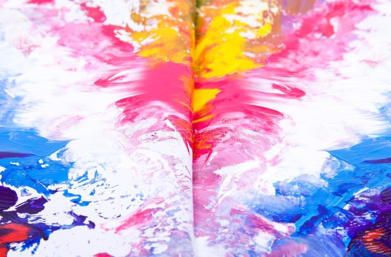 De textuur van de verf stock foto